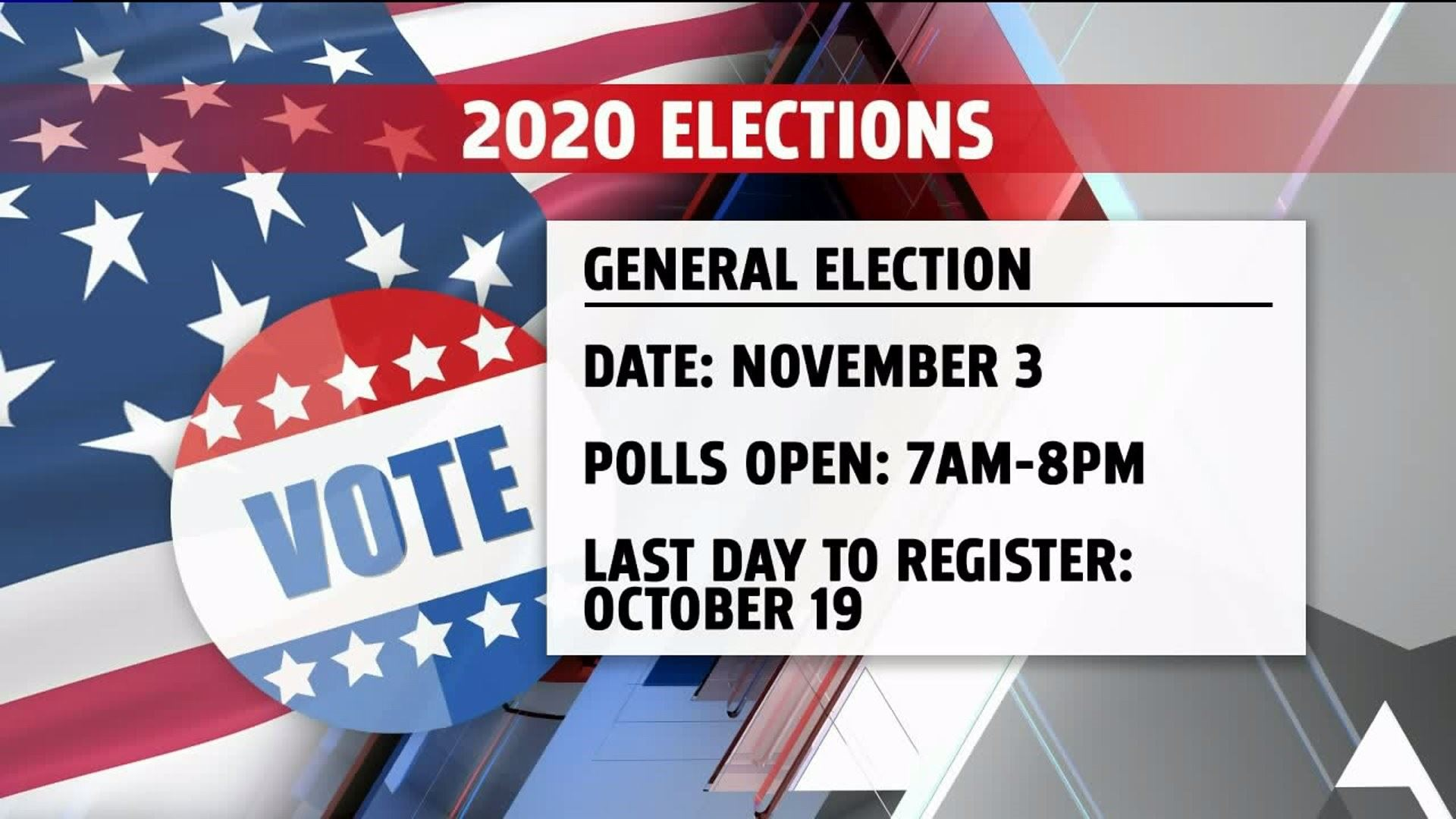 2020 Elections Date and voting info
