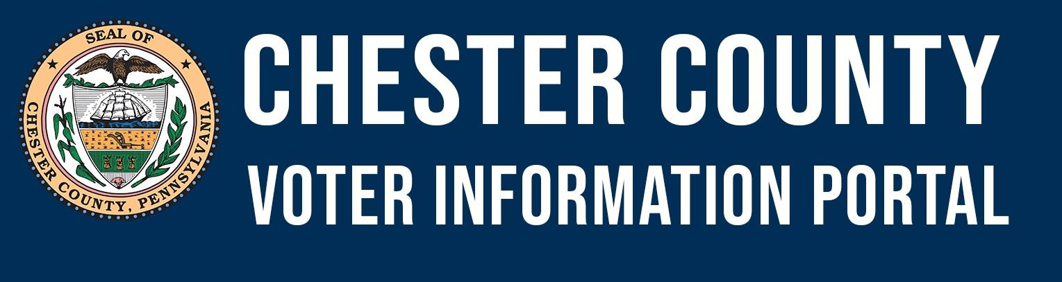 Chester County Voter Information Portal Logo